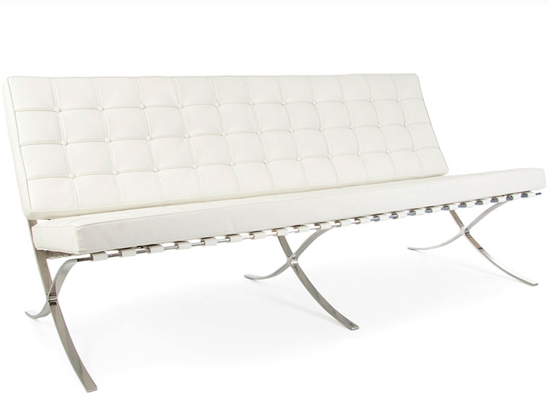 Image du mobilier design Divano Barcelona 3 posti - Bianco