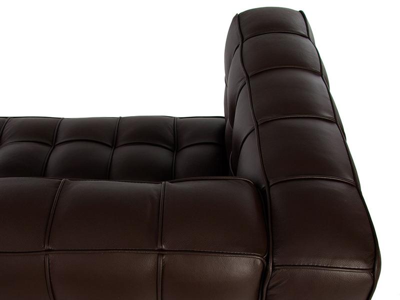 Image du mobilier design Divano Kubus 2 Posti- Marrone