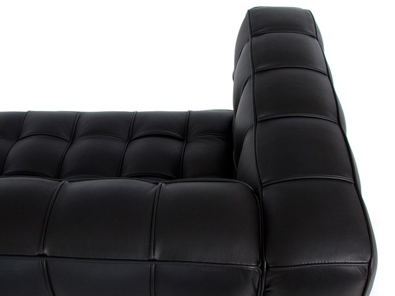 Image du mobilier design Divano Kubus 3 Posti- Nero