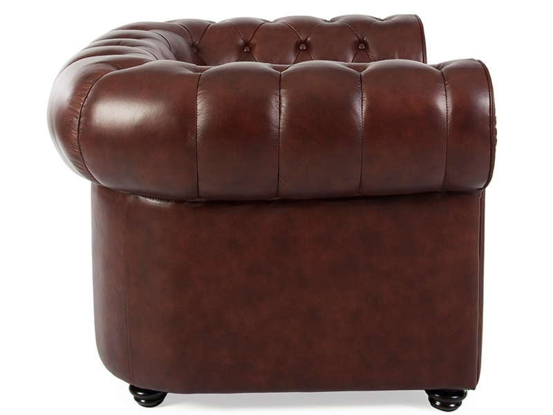 fauteuil chesterfield marron. Black Bedroom Furniture Sets. Home Design Ideas