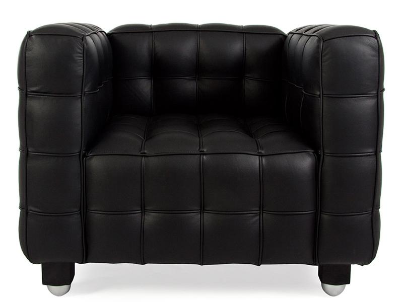 Image du mobilier design Fauteuil Kubus - Noir