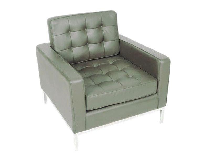 fauteuil lounge knoll gris. Black Bedroom Furniture Sets. Home Design Ideas