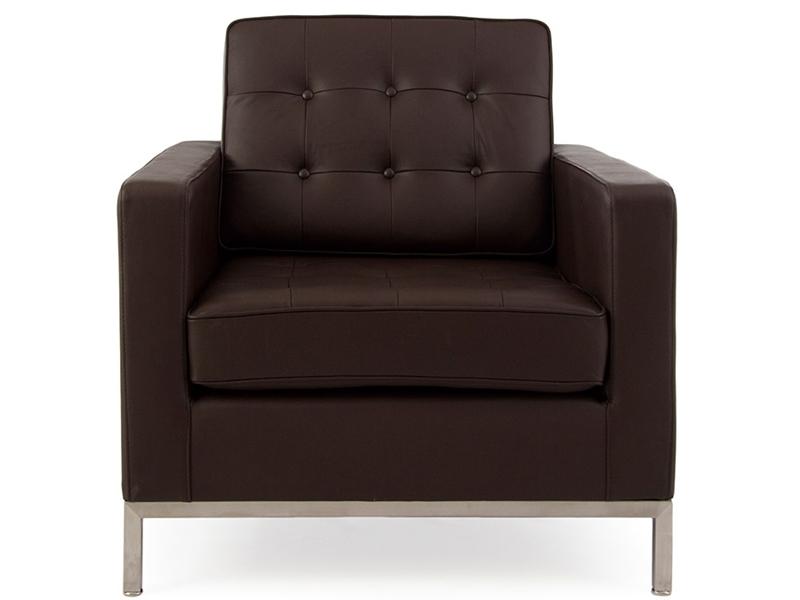 Image du mobilier design Fauteuil Lounge Knoll - Marron