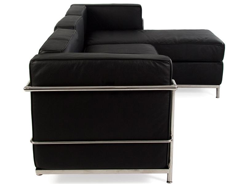 Lc2 Canap D 39 Angle Le Corbusier Noir