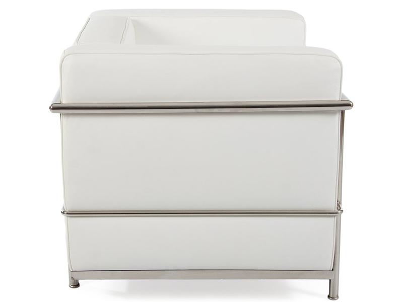 Image du mobilier design LC2 Fauteuil Le Corbusier - Blanc