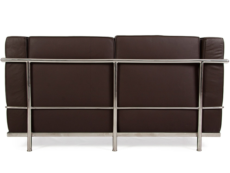 Image du mobilier design LC2 Le Corbusier 2 Places - Marron