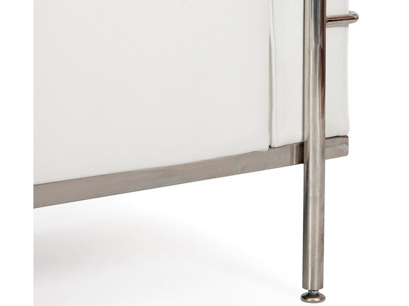 Image du mobilier design LC2 Le Corbusier 2 posti Large-Bianco