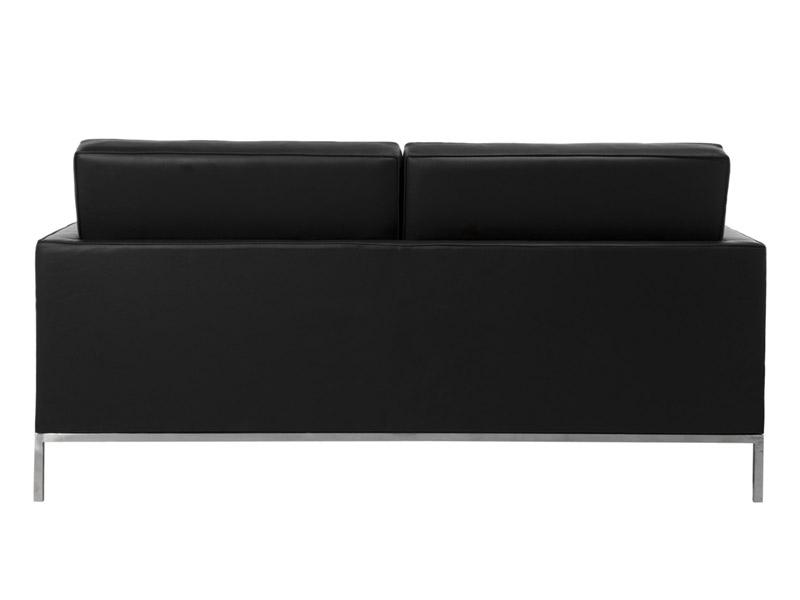 Image du mobilier design Lounge Knoll 2 Places - Noir