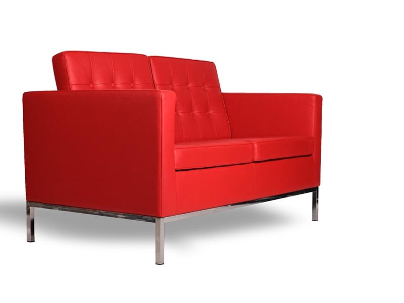 Image du mobilier design Lounge Knoll 2 Places - Rouge