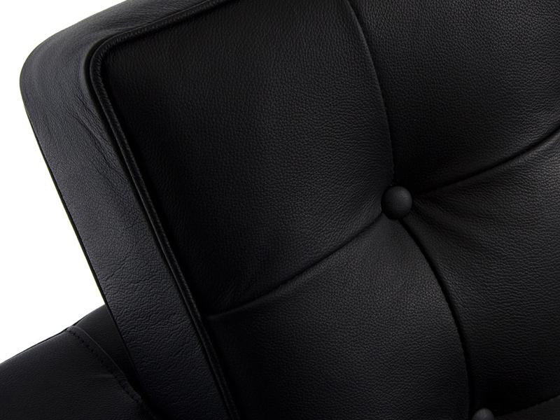 Image du mobilier design Lounge Knoll 3 Places - Noir