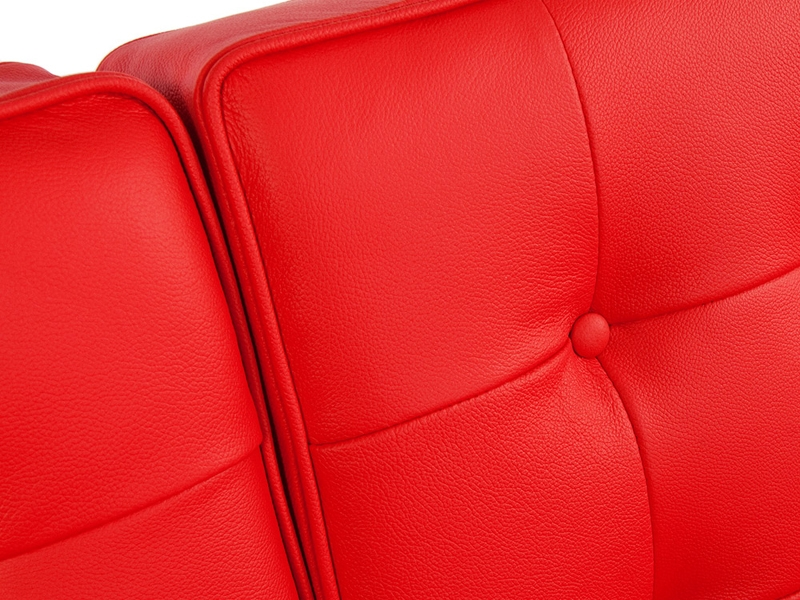 Image du mobilier design Lounge Knoll 3 Places - Rouge