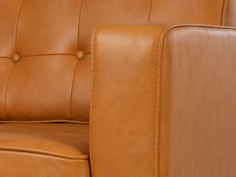 Image du mobilier design Lounge Knoll 3 Posti - Caramel