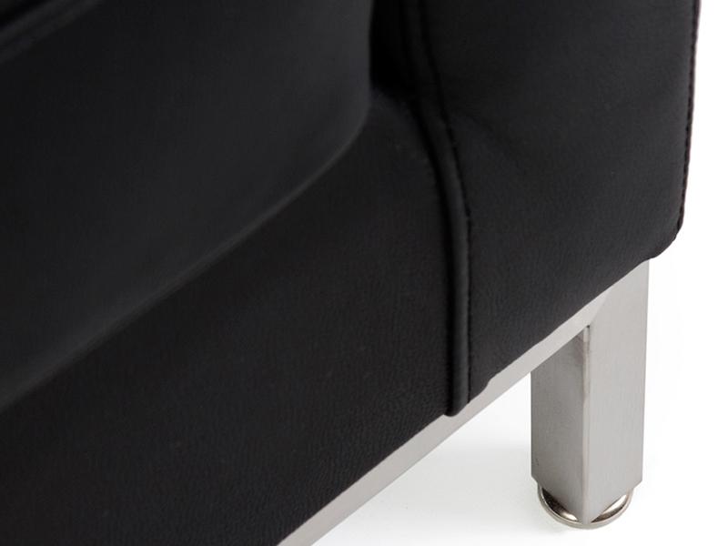 Image du mobilier design Lounge Knoll 3 Posti - Nero