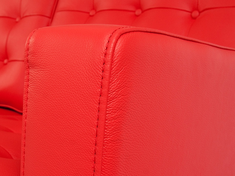 Image du mobilier design Lounge Knoll 3 Posti - Rosso