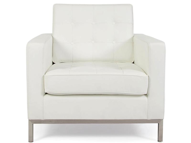 Image du mobilier design Poltrona Lounge Knoll-Bianco