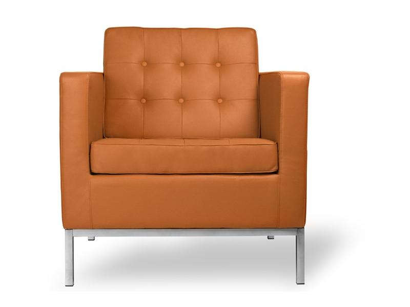 Image du mobilier design Poltrona Lounge Knoll-Caramello