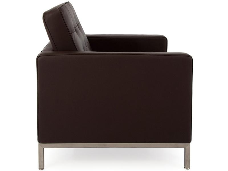 Image du mobilier design Poltrona Lounge Knoll- Marrone