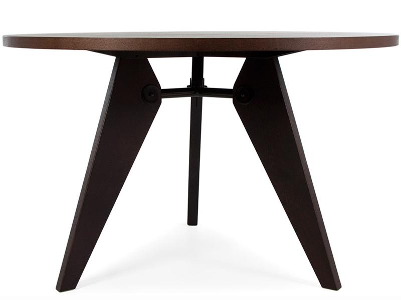 table manger prouv ronde. Black Bedroom Furniture Sets. Home Design Ideas
