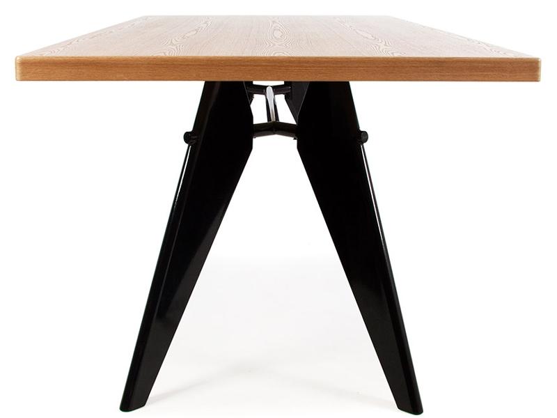 table manger prouv. Black Bedroom Furniture Sets. Home Design Ideas