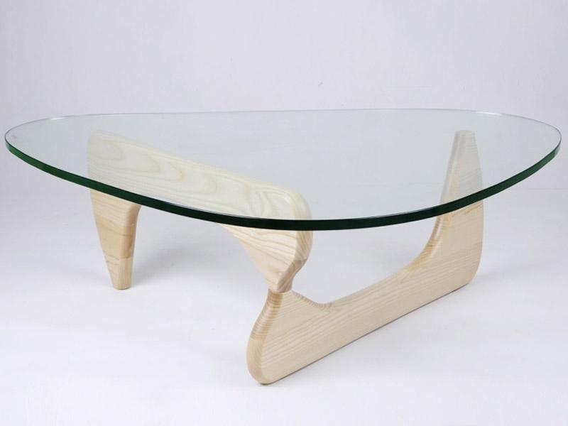 Table Basse Design Bois Clair