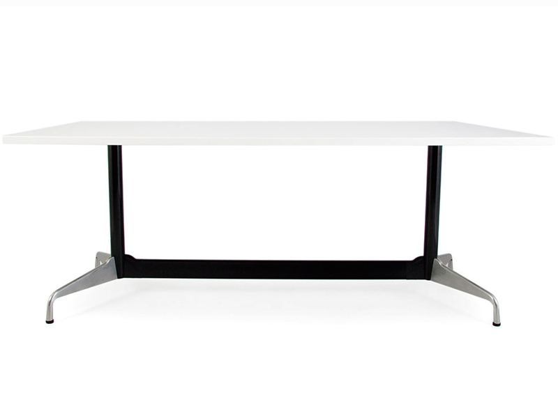 Table Eames Contract Blanc