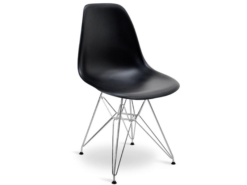 table ronde eiffel et 4 chaises. Black Bedroom Furniture Sets. Home Design Ideas