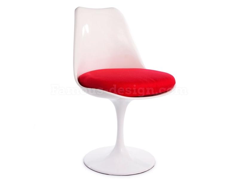 Image du mobilier design Table Tulip Saarinen et 4 chaises