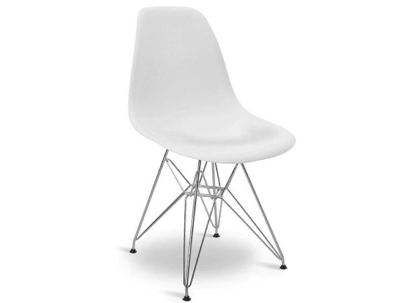 Image du mobilier design Tavola Eames Contract e 4 sedie