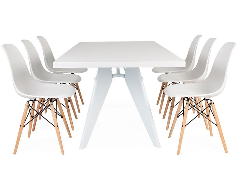 tavola prouv con 6 sedie
