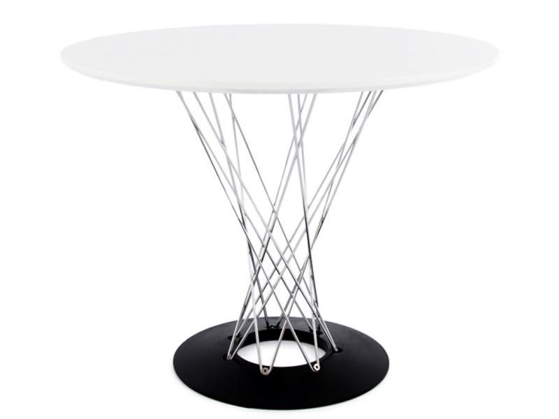 Image du mobilier design Tavolo Cyclone Noguchi e 2 sedie