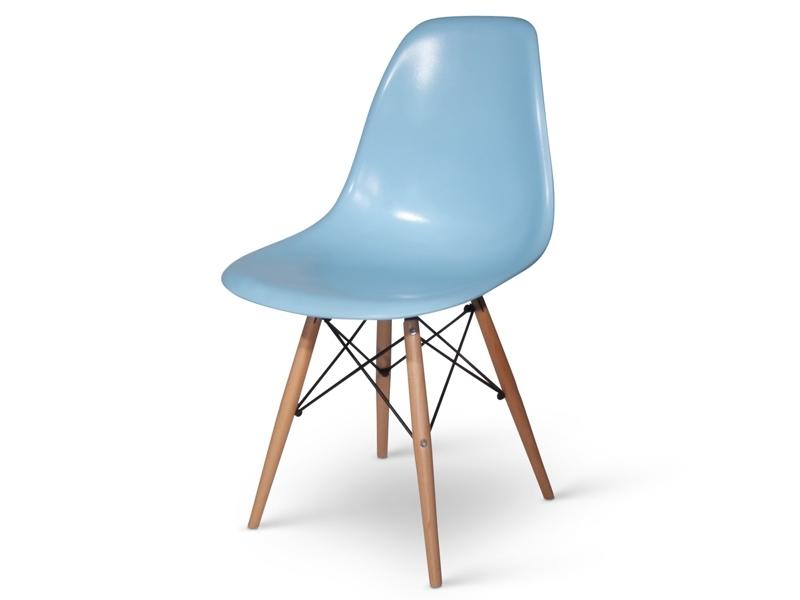 Image du mobilier design Tavolo Eames WDW con 4 sedie