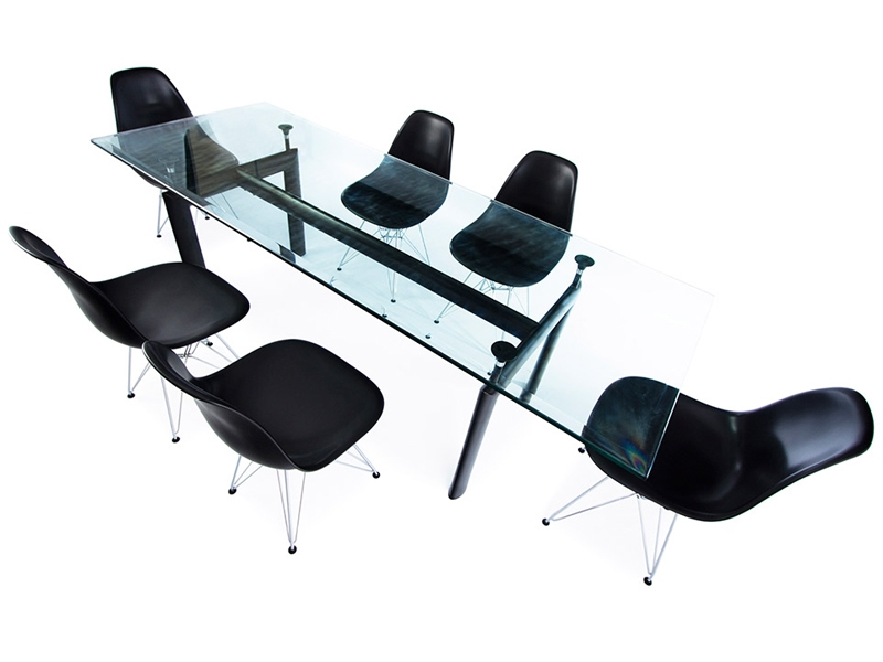 Tavolo lc6 le corbusier e 6 sedie - Le corbusier sedia ...
