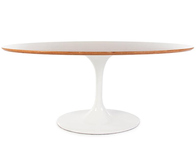 Tavolo ovale Saarinen con 6 sedie