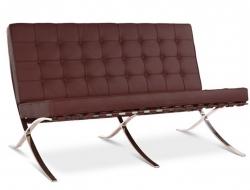 Image du mobilier design Canapé Barcelona 2 places - Marron