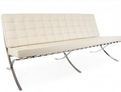 Image du mobilier design Canapé Barcelona 3 places - Crème
