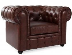 Image du mobilier design Fauteuil Chesterfield - Marron