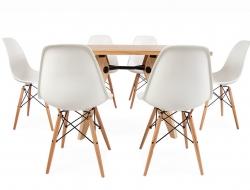 Image du mobilier design Table à Manger Prouvé et 6 Chaises