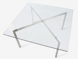 Image du mobilier design Table basse Barcelona - 90 x 90 cm