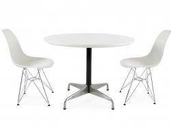 Image du mobilier design Table Eames Contract et 2 chaises
