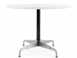 Image du mobilier design Table ronde Eames Contract - Blanc