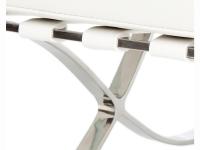 Image du mobilier design Canapé Barcelona 2 places - Blanc