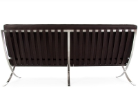 Image du mobilier design Canapé Barcelona 3 places - Marron foncé