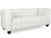Image du mobilier design Canapé Kubus 2 Places - Blanc