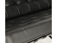 Image du mobilier design Divano Barcelona 2 posti - Nero