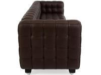 Image du mobilier design Divano Kubus 3 Posti- Marrone