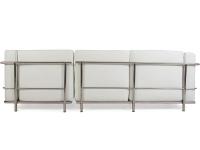 Image du mobilier design LC2 canapé d angle Le Corbusier - Blanc