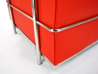 Image du mobilier design LC2 Fauteuil Le Corbusier - Rouge