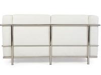 Image du mobilier design LC2 Le Corbusier 2 posti - Bianco