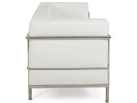 Image du mobilier design LC3 Le Corbusier 2 posti Large-Bianco