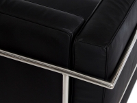 Image du mobilier design LC3 Le Corbusier 2 Posti Large - Nero